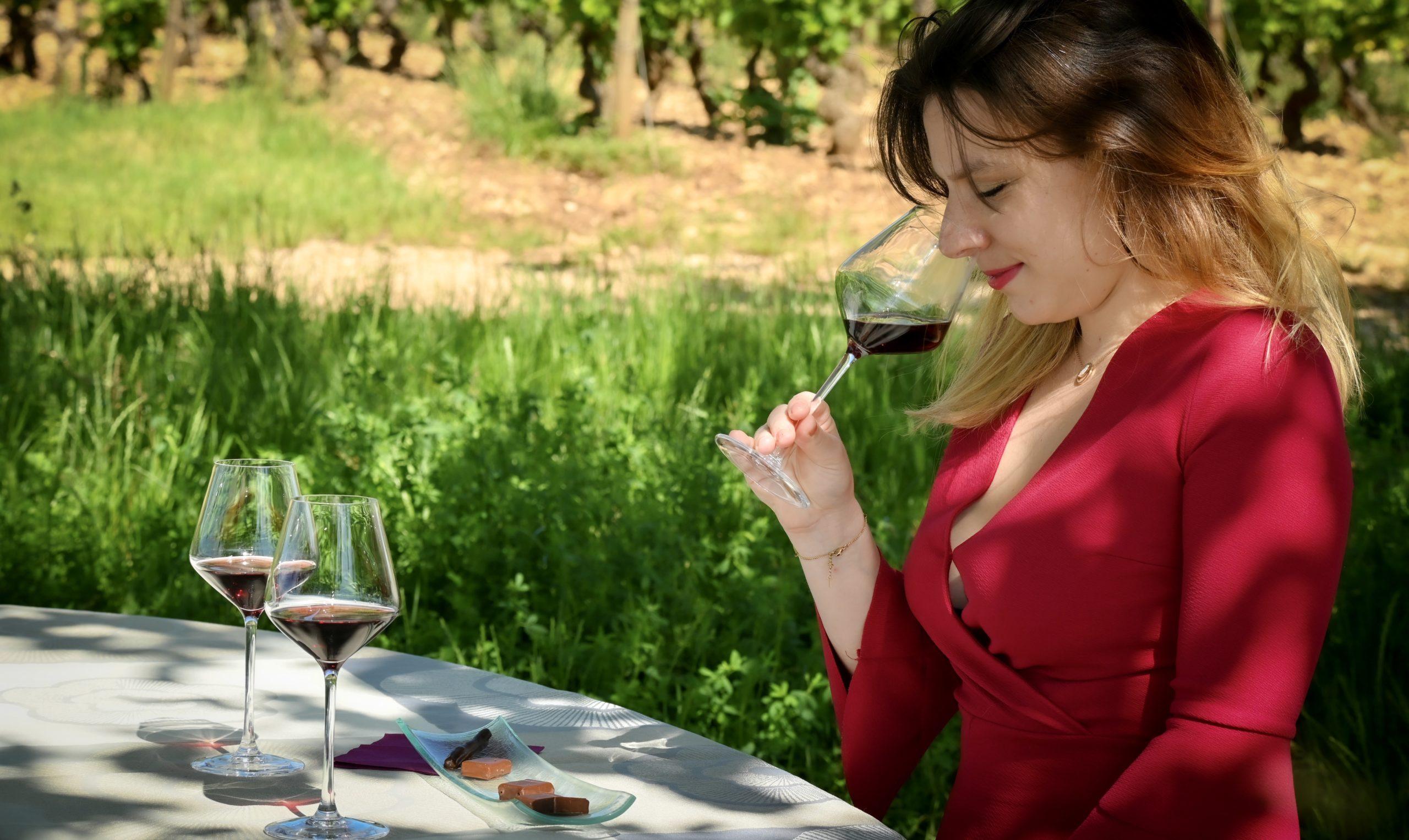 Dégustation vin et choc